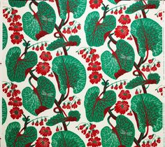 """""""aramal"""" textile design created by Josef Frank in 1940s.  Now reproduced at $185 per metre!"""