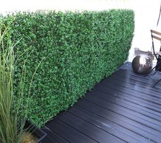 The Artificial Boxwood Hedges - Dark are a stunning selection of boxwood artificial hedging tiles that are durable and sturdy as well as beautiful too. Artificial Hedges, Artificial Boxwood, Box Hedging, Boxwood Hedge, Garden Design, Backyard, Lights, Dark, Balcony