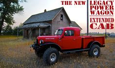 THE LEGACY POWER WAGON CONVERSION: OLD DOG. NEW TRICKS. The Legacy Power Wagon Conversion. Arguably the world's toughest - and most - beautiful truck ever created. Handcrafted by artisan auto mechanics at Legacy Classic Trucks in Jackson Hole, Wyoming.