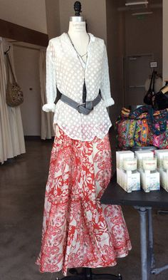 Boho Clothing Houston Boho Outfit Idea Printed Silk