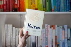 Thoughts on practicing Kaizen, the Japanese method fro transforming habts on step at a time during lockdowns, social distancing and uncertain futures. Book Corners, Kaizen, Way Of Life, Philosophy, Goals, Change, Big, Philosophy Books, Book Nooks