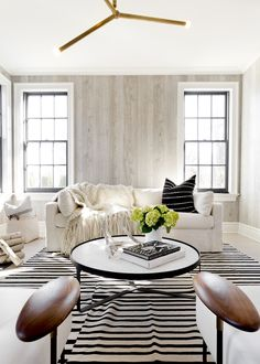 House Tour :: Black & White Gets Cozy in this Family Home - coco kelley…
