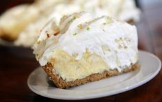 Helen Balistreri, Milwaukee, requested the recipe for coconut cream Key lime pie from Honeypie Caf