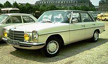 Mercedes-Benz W114 250 saloon – 1973
