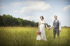 Pretty picture in the meadow. #Southern #weddings Lenora's Legacy Estate Wedding Photo Gallery