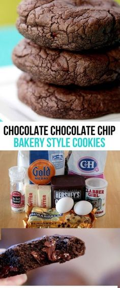 Seriously the best chocolate cookie recipe I've ever tried! Chocolate lovers dream cookies!