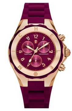 Gorgeous Michele watch - Tahitian Jelly Bean - 40% off! http://rstyle.me/n/vas55nyg6