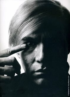 American painter and filmmaker Andy Warhol. USA, 1968(Photo by Philippe Halsman)