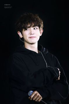 Chanyeol I black is my weakness. He is just my weakness