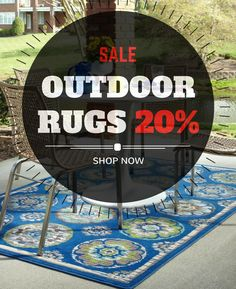 http://www.clicknbuyaustralia.com/sale/ Limited Time Offer SALE Discount 20% #Outdoor #RUGS Delivery #Australia wide, Till 19-09-2016 #Homedecor