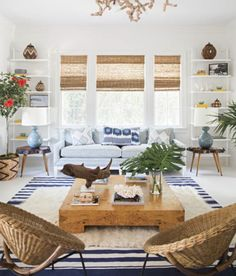 Rosa Beltran Design: GOING FOR TEXTURE: A ROUND-UP OF RATTAN, BAMBOO & WICKER FURNITURE