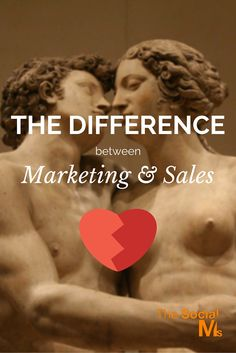 What is the Difference Marketing Sales - and how can they both work together. from http://blog.thesocialms.com/