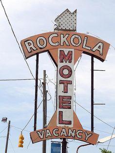 Rockola Motel.......Asheville, North Carolina