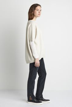 Yoshi Sweater - Natural | Emerson Fry
