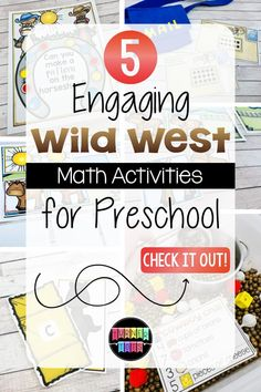 Wild West Math Activities That'll Spur Up Excitement | Turner Tots