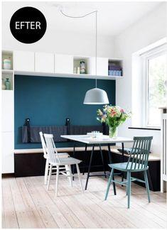 U Haul Furniture Dolly Info: 2752754876 Dining Room Bench, Kitchen Seating, Banquette Seating, Kitchen Benches, Dining Room Design, Dining Area, Dining Table, Home Decor Kitchen, Kitchen Interior