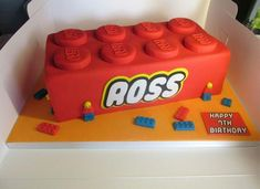 Le gâteau Lego Duplo