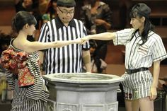 [Dブロック1回戦]AKB48の武藤十夢とSKE48の内山命 ▼17Sep2014オリコン|第5回じゃんけん大会画像ギャラリー http://www.oricon.co.jp/music/special/page/1447/ #SKE48 #Mikoto_Uchiyama