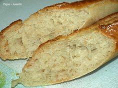 Baguettes sans pétrissage + méthode de pliage.