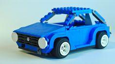Lego Volkswagen Golf Mk1 [work-in-progress] by delta.triangle, via Flickr