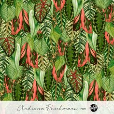 Pattern Book Floral & Foliage - Dash Studio (2015) on Behance