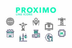 Proximo Line icons by Dreamstale on @creativemarket