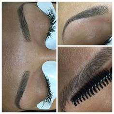 perfect-eyebrows-made-easy-with-semi-permanent-make-up - More Beautiful Me 1 Hair Stroke Eyebrows, Eyebrows On Fleek, Perfect Eyebrows, Eyelashes, Permanent Eyebrows, Permanent Makeup, Nail Shop Near Me, Celebrity Eyebrows, Threading Eyebrows