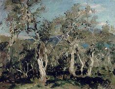 John Singer Sargent - Olives, Corfu, 1912