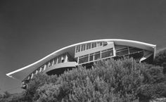 The North Elevation: Classic Spaces: John Lautner: Garcia Residence a.k.a. The Rainbow House: Los Angeles