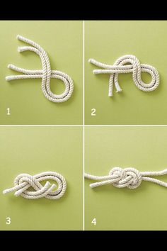 Nautical knot tutorial DIY, except the tutorial of getting from 2 to 3 is going to be needed! Nautical knot tutorial DIY - try it with leather cording for a bracelet Jewelry Knots, Diy Jewelry, Handmade Jewelry, Jewelry Making, Bracelet Knots, Sailor Knot Bracelet, Bangle Bracelets, Nautical Knots, Nautical Cards