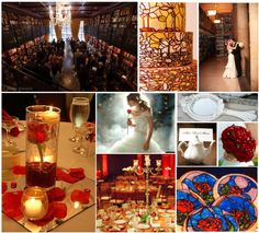 Bucket List - Vow Renewal - Um, can I get remarried?! Beauty and the Beast wedding!