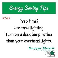 #energysavingtips 2-15 Prep time? Use task lighting. Turn on a desk lamp rather than your overhead lights. (Source:http://tiny.cc/ae4xjx) *************************************** #ParkerOil#HeatingOil #Diesel #DieselDelivery #Stroudsburg #Pennsylvania #HVACServiceStroudsburg #HVACSystemInstallation #BulkFuelStorage #StroudsburgHeatingOil #sycamorecompanies #StroudsburgDiesel #StroudsburgHVAC #bettertogether #wedeservethis