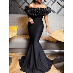Looking for Off-The-Shoulder Patchwork Slash Neck Mermaid Dress? Fancywe offers lots of Maxi Dresses in different styles, colors and materials. Dress your own style with Off-The-Shoulder Patchwork Slash Neck Mermaid Dress Long Mermaid Dress, Mermaid Dresses, Dress Long, Sexy Dresses, Beautiful Dresses, Girls Dresses, Party Dresses, Dresses Dresses, Casual Dresses