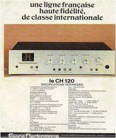 Publicités de la hifi,France Electronique