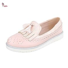 Ital-Design , Basses femme - rose - Rosa, - Chaussures ital design (*Partner-Link)