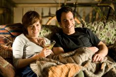 Still of Amy Adams and Chris Messina in Julie & Julia