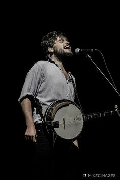 Winston Marshall of Mumford  Sons performs at the Gentlemen of the Road Stopover in Troy, Ohio on August 31, 2013. Photo © Mike Clare/mikecimages (Website/Facebook/Twitter).