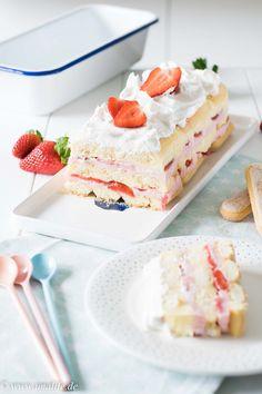 Sommerkuchen mit Erdbeeren in 10 Minuten