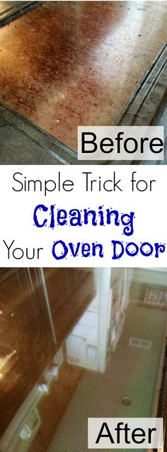 How To Clean The Inside Of Your Oven Door Oven Doors And Natural