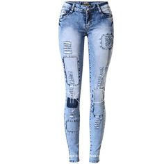 Cheap jeans paint, Buy Quality jeans jeans jeans shop directly from China jeans online Suppliers: 2016 high waist jeans woman ripped jeans for women american apparel skinny jeans femme feminina feminino pants pantalones mujer High Jeans, High Waist Jeans, Jeans Pants, Denim Jeans, Denim Joggers, Casual Jeans, Jeggings, Legging Bleu, Womens Ripped Jeans