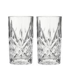 2-pak longdrink glazen