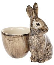 Ceramic Wild Rabbit Egg Cup