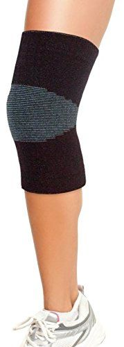 Beautyko Fitness Tech Energy Compression Support Knee Sleeve, 20 Count *** For more information, visit image link.