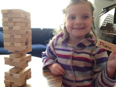Jenga – a music game for all ages and levels! | Small Town Music Lessons