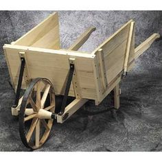 Garden Wheelbarrow Woodworking Plan Our Garden Wheelbarrow Woodworking Plan is based on an authentic pattern from the 1800's. With its 18in steel rimmed, steam bent oak wheel, steel braces and removab
