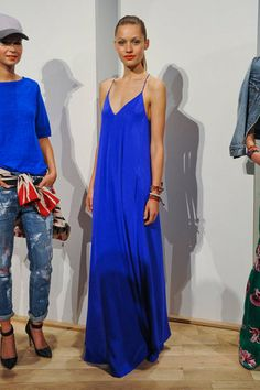 J.Crew Spring 2013 Collection Silk Maxi Dress $398