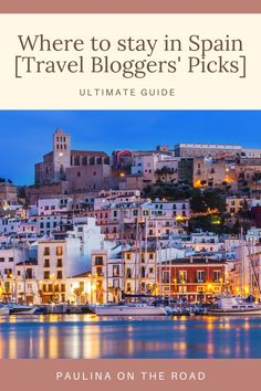 Are you wondering where to stay in Spain? This is the ultimate list of the best places to stay in Spain this year. Here top travel bloggers recommend the best hotels in Spain, the best Airbnbs in Spain, and the best resorts in Spain to spend amazing holidays. These are experts in their field and be ready to explore hidden gems in Spain. If you're still looking for accommodation in Spain, you'll find the best places to stay in Spain here. #wheretostayinspain #spainholiday #hotelsspain #spain Best Travel Guides, Travel Tips, Travel Destinations, Best Resorts, Best Hotels, Spain Travel Guide, Spain Holidays, European Travel, Cool Places To Visit