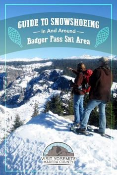 Yosemite in winter is a different and exciting experience. If you want truly enjoy the white stuff, you need to go higher in elevation. Here's the official guide to snowshoeing in and around Badger Pass Ski Area. Sequoia National Park, Us National Parks, Winter Is Here, Winter Fun, Travel Expert, Travel Tips, Pass Photo, Us Travel Destinations, Yosemite Valley