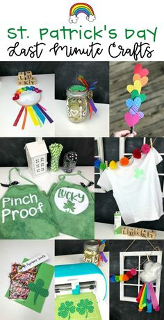Last MInute St Patricks Crafts with Cricut for decorating, celebrating and apparel Fun Crafts, Crafts For Kids, Paper Crafts, Card Making Tutorials, Paper Craft Supplies, Do It Yourself Crafts, Diy Invitations, Card Making Inspiration, Decoration