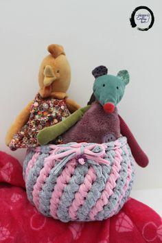 Nursery Storage Baskets, Baby Pink and grey nursery decor, Baby Girl Nursery Decor, Crochet Basket, Baby Girl Shower Gift, Storage Bin by EndlessknotByAgnes on Etsy